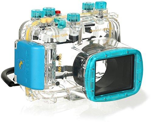 Nikon P7100 Unterwassergehäuse 40 Meter Wasserdicht Tauchgehäuse Schutz bei Schnorcheln Schnee & Sand Meikon