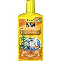 Tetra 736337 - , cuidado del agua vitales para la promoción de la vitalidad, bueno sentir y farbenpracht de peces ornamentales, agrega vitaminas y nutrientes vitales, 1 botella (1 x 500 ml)