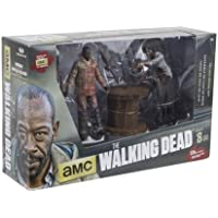 The Walking Dead TV Morgan Jones and Walker with Spike Trap Deluxe Box Action Figure