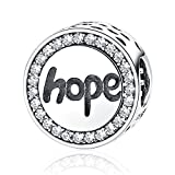Best Tante Charms Pandora - Argent sterling Hope inspirants Charms Perles Faith Charm Review