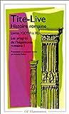 Histoire romaine, livres XXXVI à XL