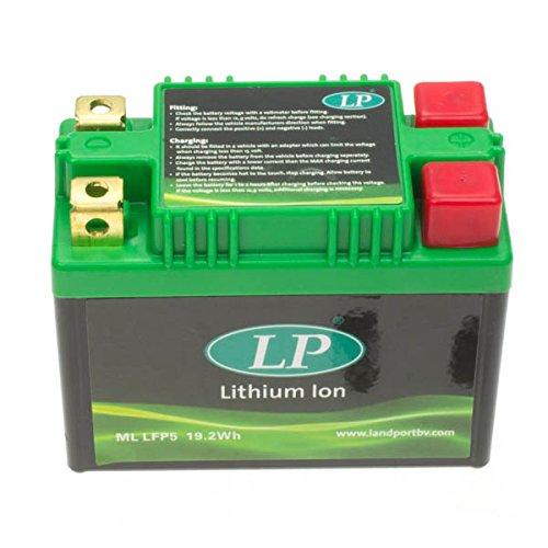 Landport ML LFP5 Lithium-Ionen Batterie, Schwarz (Preis inkl. EUR 7,50 Pfand)