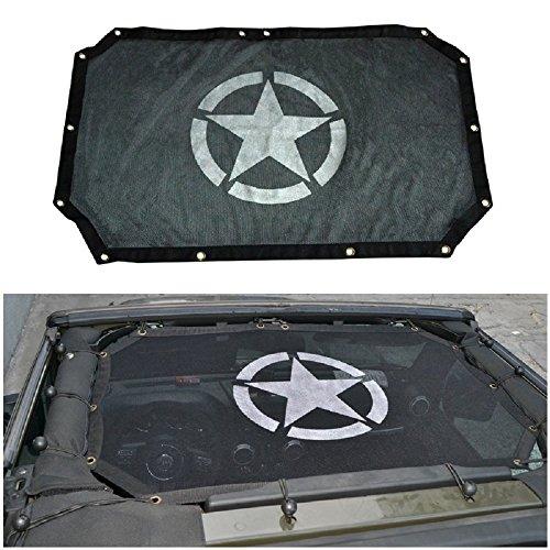 SUPAREE Malla cubierta superior de los rayos ultravioleta toldos completo con el bolsillo de almacenamiento