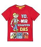 Bob der Baumeister T-Shirt rot (110)