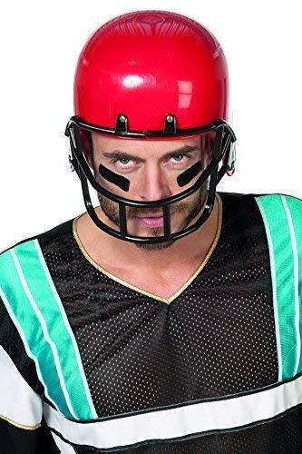 Football Roter Helm Kostüm - SALE Kinder Helm American Football in rot