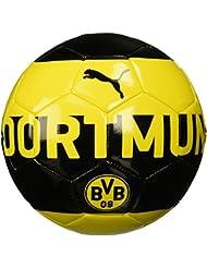 Puma Bvb Fan Ballon de Football Mixte, Mehrfarbig
