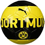 PUMA Bvb Fan Ball Fußball, Cyber Yellow-Puma Black, 5