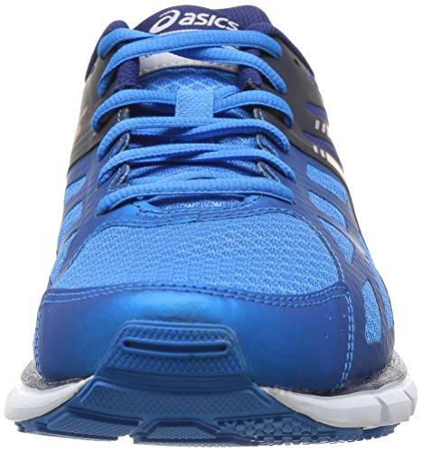 Asics Gel-Zaraca 3, Chaussures de trail homme Bleu (3932-Aqua Blue/Orange/Navy)
