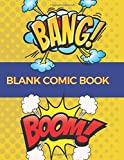 Blank Comic Book: Create This Book for Drawing Your Own Character with Variety of Templates, Sketchbook for Kids (Volumn 9)