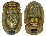 Rasenhufstollen Set 16 teilig mit Hartmetallstift bestehend aus 16 Rasenstollen (14 x 14 mm) (M12)