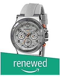 (Renewed) Swiss Eagle Analog Silver Dial Men's Watch-SE-9146-01
