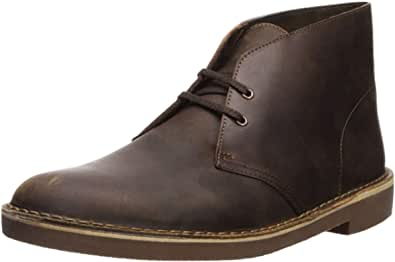 Clarks Men's Bushacre 2 Chukka Boot,Beeswax,8 M US