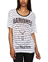 House Of The Gods Ramones To Tough To Die Rounded Women's T-Shirt