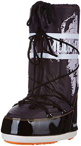 Moon Boot Astronauta, Bottes pour Femme Noir Noir EU 39-41