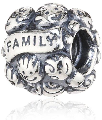 Pandora Women's 925 Sterling Silver Family Charm Bead