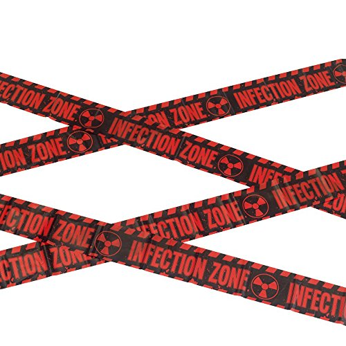 PARTY DISCOUNT NEU Absperrband Infection Zone, 6m