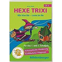 Hexe Trixi, Klix klax klu - Lesen im Nu, CD 2 (Klassenversion Einzellizenz) Für das 1. und 2. Schuljahr. Für Windows 95/98/2000/Me/XP oder Macintosh OS 8.1. 11 Lernspiele