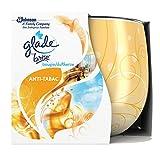 Glade By Brise Bougie Parfumée, Jusqu'à 30h de Combustion, Anti-Tabac, 120 g- Lot de 3