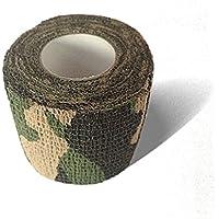 LisaCare Fixierbinde 5cmx4,5m | 2er-Set Tarnfarbe & Schwarz je 1x | Kohäsive Bandage | Wundverband | Pflasterverband... preisvergleich bei billige-tabletten.eu