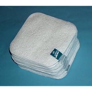 Cheeky Wipes Babypflege Frottee-Tücher weiß 25 Stück