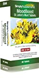 St. John's Wort Tablets MoodBoost (THR) 90 Tablets | May help low mood and mild anxiety | 100% money back guarantee | Manufactured in the UK … by Simply Supplements