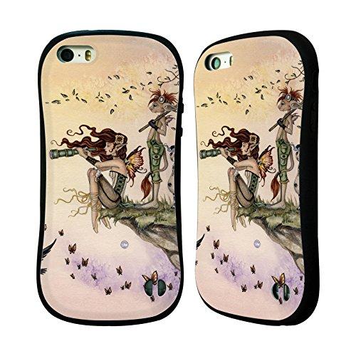 Ufficiale Amy Brown Guardiano Fantasy Case Ibrida per Apple iPhone 7 / iPhone 8 Dove Ti Porta Il Vento