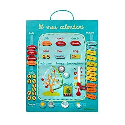 Lilliputiens - Mi Primer Calendario - Catalán por Lilliputiens