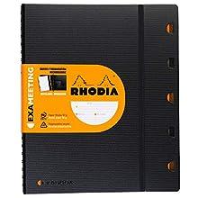 Rhodia 132410C Quaderno, Nero