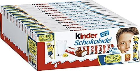 Kinder Schokolade Minions Ich Einfach unverbesserlich, 12er Pack (12 x 300g)