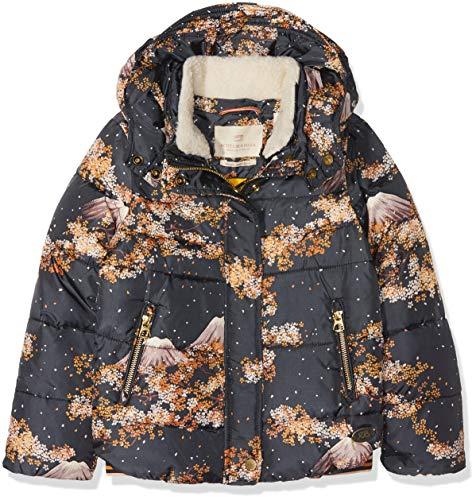 Scotch & Soda RŽBelle Puffer Jacket with Detachable Teddy Collar In Short Length, Chaqueta Niñas...