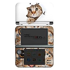 DeinDesign Skin kompatibel mit Nintendo New 3DS XL Aufkleber Sticker Folie Katze Cat Kitten