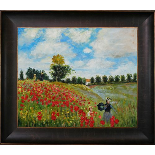 overstockart-monet-poppy-field-in-argenteuil-oil-painting-with-veine-d-bronze-scoop-rich-brown-finis