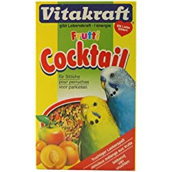 VITAKRAFT cóctel Frutas periquitos 200G––Juego de 12