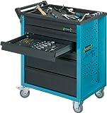 HAZET Werkstattwagen Assistent 177-6 (4 flache und 2 hohe Schubladen) - 4