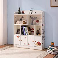Emall Life Kids Bookshelf and Storage, Children