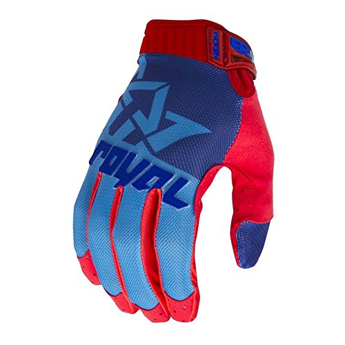 Royal Racing Victory – Guantes unisex, color Bleu/Marine/Rouge, tamaño L
