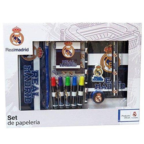 Set papeleria Real Madrid 20pz