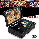 Dedeka Retro-Spielekonsole, tragbare Konsolen-Konsole, klassisches Spielsystem aus Arcade Playstation, wiederaufladbare LCD-Spielkonsole mit 2177 klassisches Nostalgie-Spiel 10 Zoll Screen