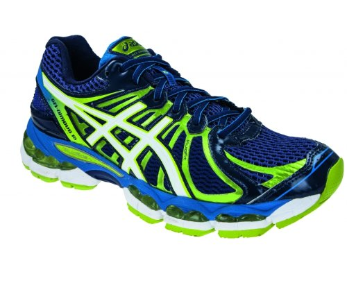 Asics Gel Nimbus 15, Chaussures de Sport Homme Blanc (Blue)