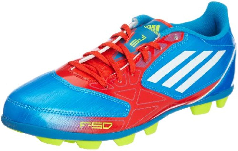 Adidas F5 TRX HG Herren Fussballschuhe  Blau  Größe 45 1/3