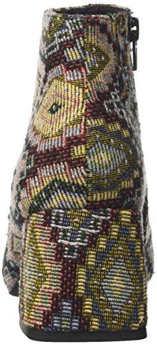 Jeffrey Campbell Nova Fab, Stivaletti Donna Multicolore (Brown/Gold)
