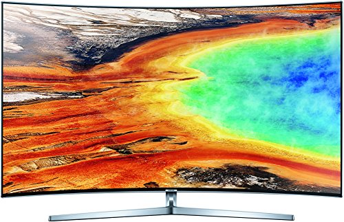 Samsung MU9009 138 cm (55 Zoll) Curved Fernseher (Ultra HD, Twin Tuner, HDR 1000, Smart TV) (Samsung Tv 55in Led)