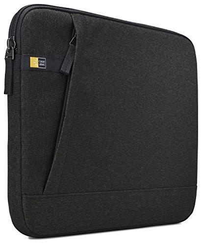 Case Logic Huxton Sleeve Schutzhülle für Notebooks bis 33,8 cm (13,3 Zoll) Schwarz (Case Logic Laptop Sleeve)