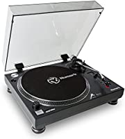 Numark TT250 USB Professional Direct Drive Turntable with high-quality magnetic cartridge, aluminum platter & S-shaped tonearm + Mac & PC conversion software included