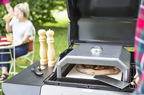 Oxford Barbecues Gourmet BBQ Pizza Oven + Stainless Steel Peel