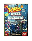 Apocalypse vs Archangel Figures - 1994 - X-Men Steel Mutants - Die...