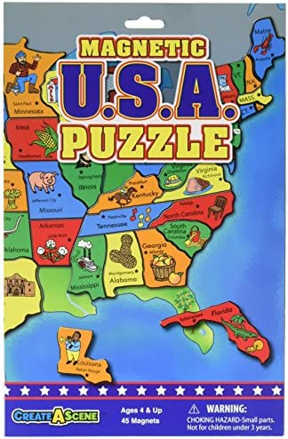 Smethport 7432 Magnetic USA Puzzle B00155EBP4 Pack de 6 B00155EBP4 Puzzle 28ce3f