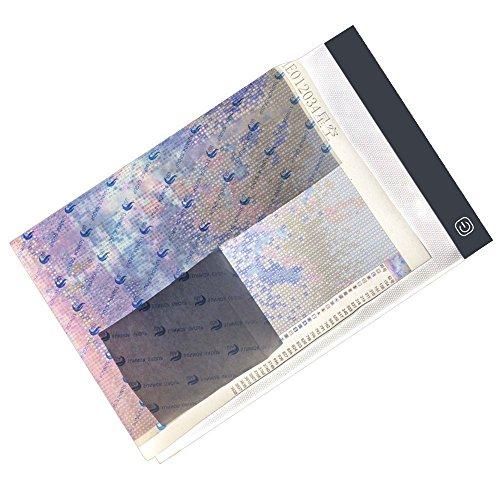 Twuky Diamond Painting A4 LED Licht Pad Bord Tablet Ultradünne Dimmbare gelten für Vollbohrer & Teilbohrer 5D Diamant Malerei Strass Stickerei Punkte Kreuzstich durch Anzahl Kit -