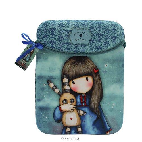 Preisvergleich Produktbild Santoro Eclectic–Gorjuss iPad Sleeve–Hush Little Bunny
