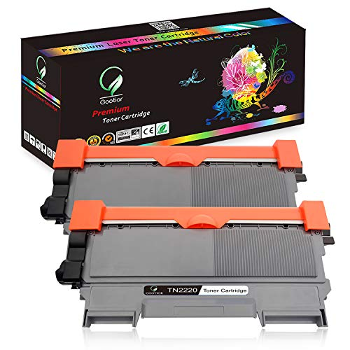 TN2220 TN2210 Toner, Compatibili Per Brother HL-2240D, HL-2250DN, HL-2270DW, DCP-7060D, DCP-7065DN, DCP-7070DW, MFC-7360N, 7460DN, 7860DW, FAX-2840, FAX-2845, FAX-2940, Kit 2